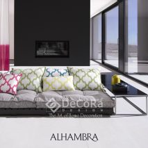 1.LAAT009-perne-decoratove-modern-roz-verde-albastru-uni