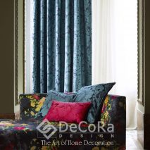 1.PAAT053-draperie-clasic-model floral-tapiserie