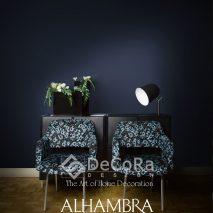 1.PAAT068-tapiserie-model-floral-albastru-negru-modern