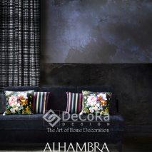 1.PAAT075-draperie-alb-negru-perne-dungi-model-floral