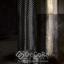 1.PAAT077-draperie-buline-alb-negru-tapiserie-modern