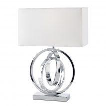 EN159-lampa-moderna-argintie-abajur-alb