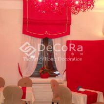LDDP001-perdea-alb-sistem-roman-rosu-restaurant-elegant