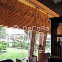 LDDP006-sistem-roman-plisat-maro-cafenea-material-textil