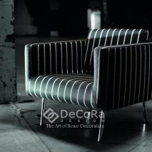 LKBT027-fotoliu-tapisat-model-dungi-negru-alb-modern-elegant