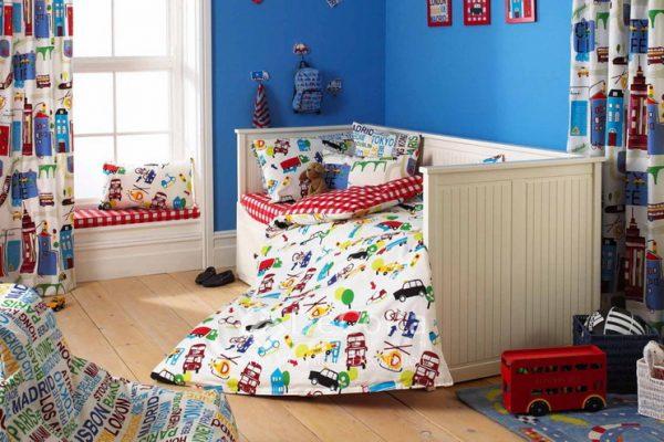 LPTT002-perdele-draperii-copii-baieti-albastru-masini-desene
