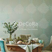 LSDAE04-tapet_decorativ_verde_imprimeuri_copaci_lux