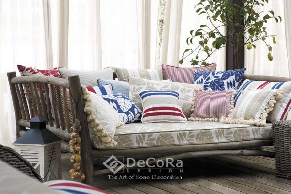LSTT007-perdea-alb-clasic-uni-ieftin-perne-decorative-dungi-model-floral-albastru-roz-rosu-albastru