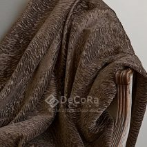 LZRT051-material-textil-perdea-draperie-maro-dungi-model-abstract