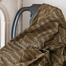 LZRT052-material-textil-perdea-draperie-kaki-negru-dungi