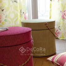 LZRT058-tapiserie-taburet-roz-maro-draperie-model-floral-galben-mov-verde