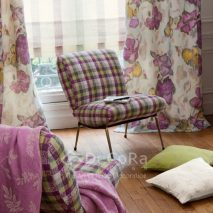 LZRT064-draperie-model-floral-mov-galben-sistem-roman-dungi-tapiserie-scaun-carouri