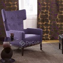 LZRT066-draperie-model-abstract-modern-maro-mov-auriu-tapiserie-fotoliu-albastru-model-abstract