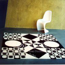LxxC010-covor-model-geometric-alb-negru