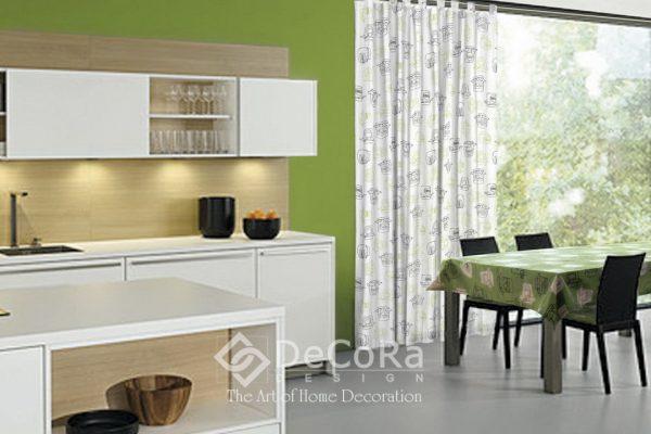 LxxT023-draperie-alb-negru-verde-model-abstract-modern-tineresc