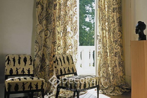 LxxT056-draperie-bej-auriu-negru-model-abstract-elegant-clasic