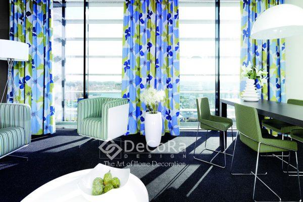 LxxT076-draperie-model-floral-albastru-verde-tineresc-modern