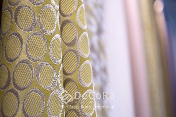 LxxT079-perdea-cercuri-galben-maro-geometric-modern