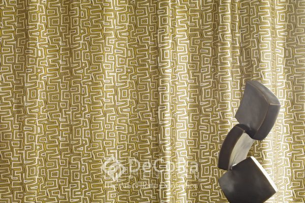 LxxT092-perdea-maro-auriu-galben-alb-model-geometric