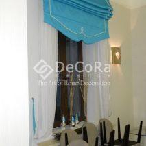 PDDP008-perdea-alb-clasic-sistem-roman-albastru-model-elegant-restaurant