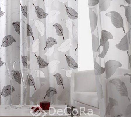 PFBT017-perdea-model-frunze-negru-alb-modern-ieftin