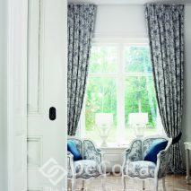 PKBT002-draperie-alb-negru-model-floral-living-elegant-modern