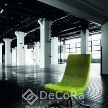 PKBT013-scaun-de-birou-verde-tapisat-model-modern