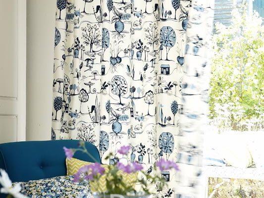 PPTT007-perdele-bucatarie-model-abstract-alb-albastru-modern
