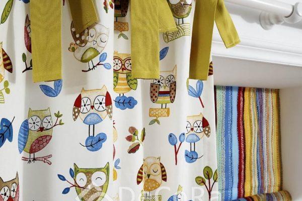 PPTT009-perdele-copii-funde-animale-verde-maro-albastru-galben