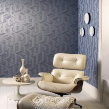 PPTW057-tapet-model-geometric-albastru-modern