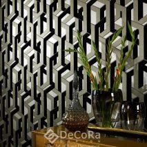PPTW058-tapet-model-geometric-gri-negru-alb-modern