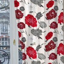 PTV030-draperie-model-floral-rosu-alb-gri
