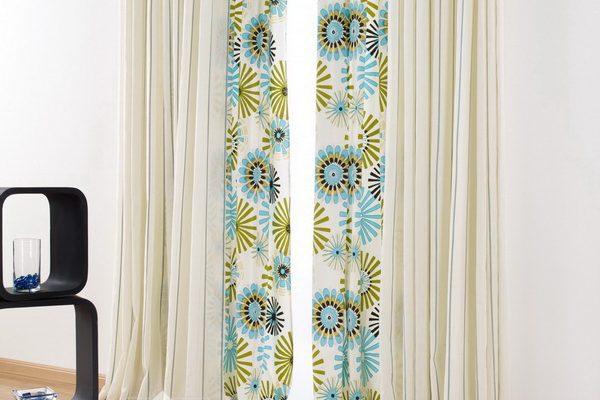 PXXT110-perdea-alb-abstract-albastru-verde-draperie-dungi-bej
