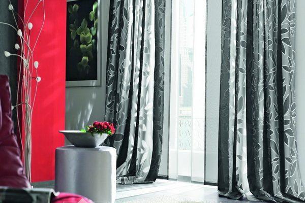 PXXT175-draperie-gri-floral-alb-modern-elegant