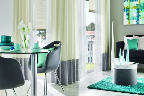 PXXT208-draperie-verde-gri-alb-dungi-modern-rulou