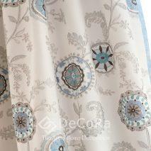 PZRT025-draperie-model-floral-alb-gri-albastru-elegant