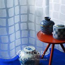 PZRT035-perdea-model-geometric-in-albastru-clasic