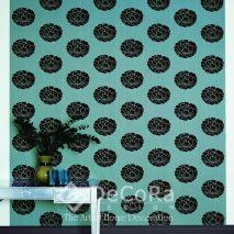 PxxW165-tapet-floral-negru-albastru-modern