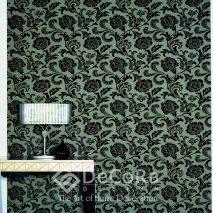 PxxW167-tapet-floral-negru-albastru-modern-elegant