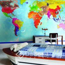 PxxW196-tapet-copii-galben-rosu-modern-albastru-verde