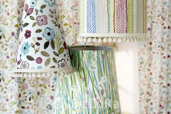 SPTT013-perdele-copii-model-floral-albastru-mov-verde-rosu-modern