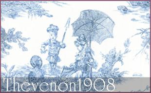 Colectii Perdele si Draperii Thevenon 1908