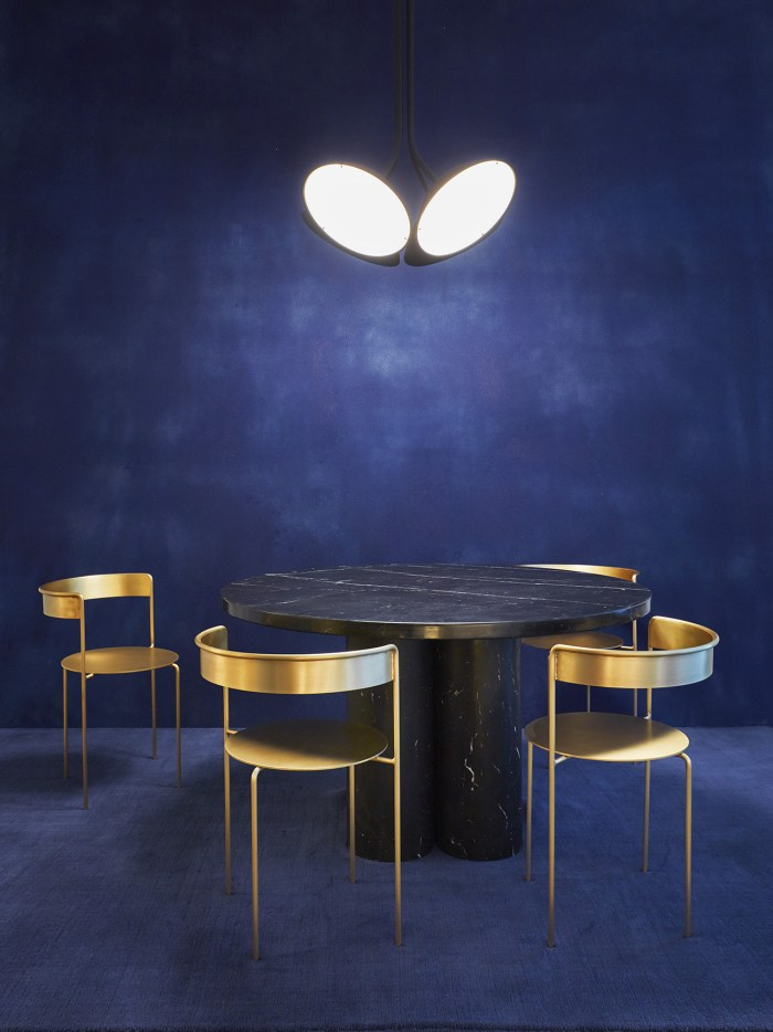 Matter-Made-Landscape-4-Pendant-Ligh-Slon-Dining-Table-Avoa-Chairs