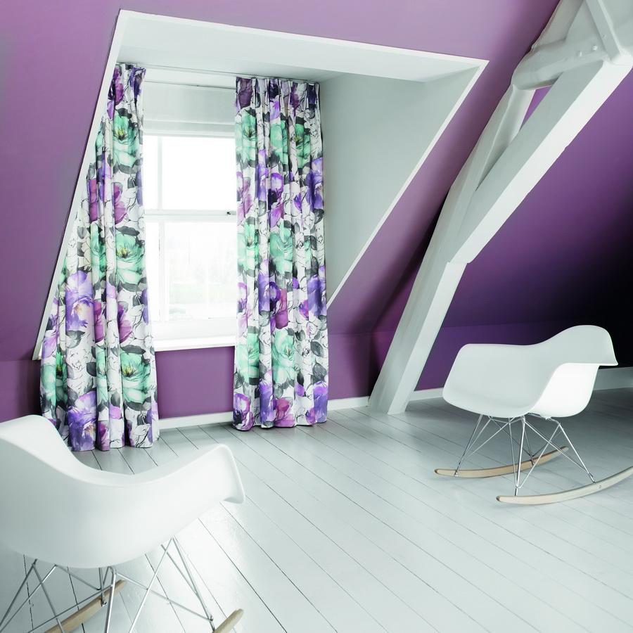 SXXT316-draperie-model-floral-mov-verde-alb