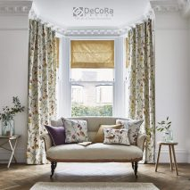 ABBEY GARDENS MAIN-DRAPERII-STORURI-ROMANE-LIVING-IMPRIMEU-FLORAL-PERNE-DECORATIVE-DECOR-LIVING