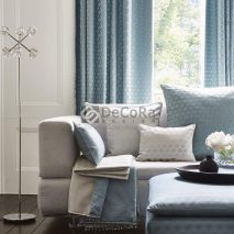 TIMELESS MAIN-DECOR-LIVING-SET-ELEGANT-DRAPERII-PERNE-DECORATIVE-CUVERTURA-BLEU-GRI